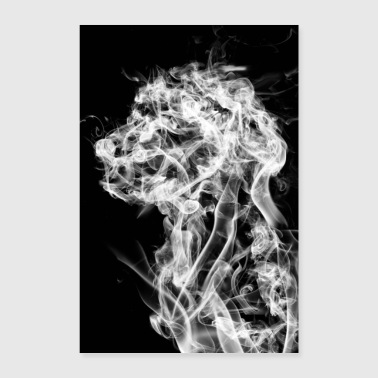 Dog in the Smoke - Juliste 60x90 cm