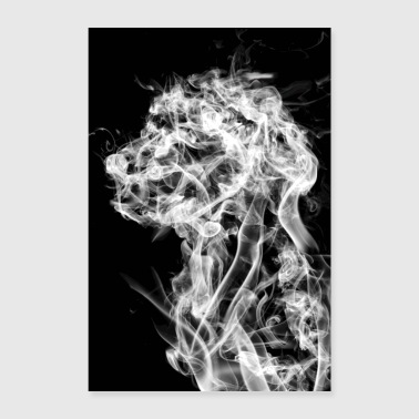 Dog in the Smoke - Poster 24 x 35 (60x90 cm)