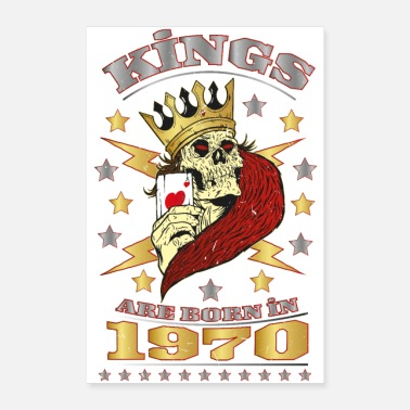 1970 Kings are born in 1970 - Poster