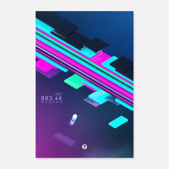 Gaming Posters - BREAK UIT - Posters wit