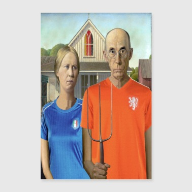 Worldcup Gothic - Poster 60x90 cm