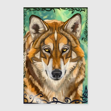 wolf - Poster 24 x 35 (60x90 cm)