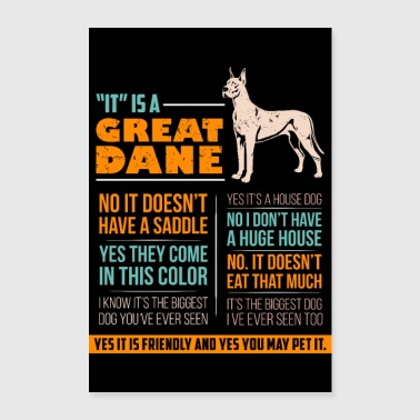 PET DOG CANE TEDESCO ANIMAL LOVE PET - Poster 60x90 cm