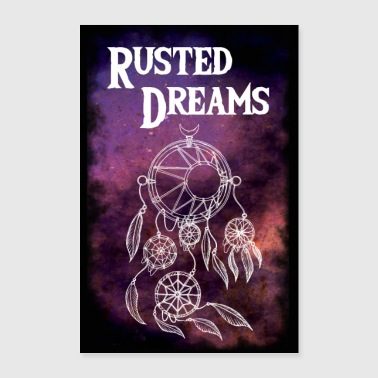 Rusted Dreams | DreamCatcher Artwork Poster - Poster 60x90 cm