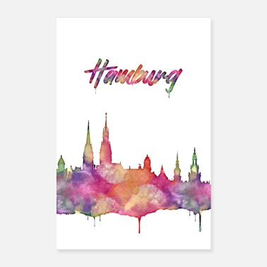 My City Hamburg the most beautiful city in the world - Poster