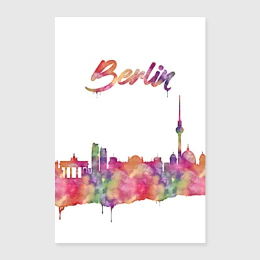 Berlin is a beautiful city - Poster 24 x 35 (60x90 cm)