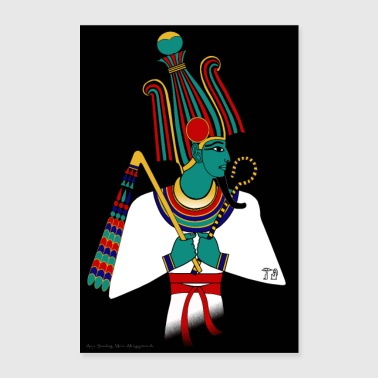 POSTER: Osiris, ancient Egyptian deity - Poster 24 x 35 (60x90 cm)