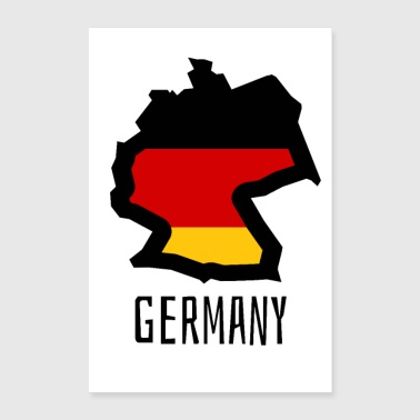 Germany germany - Poster 24 x 35 (60x90 cm)