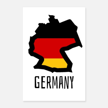 Quartiere Germania - Poster 60x90 cm