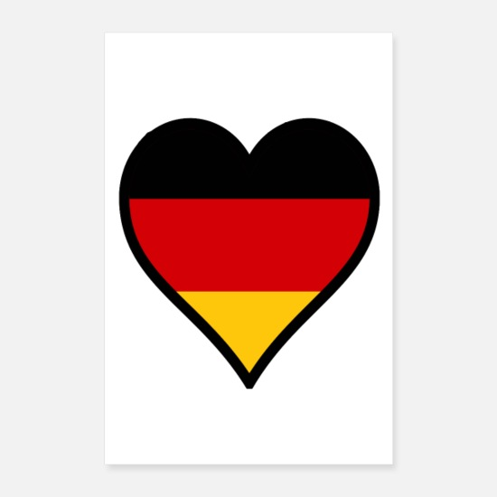 Germany Posters - Germany - Posters white