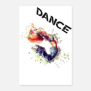 Emotion Dance Powerful - Poster 60x90 cm