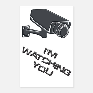 Security Service im watching you - Poster
