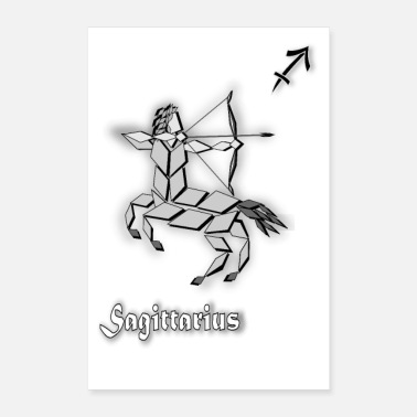 December sagittarius zodiac sign astrological sagittarius - Poster 24 x 35 (60x90 cm)