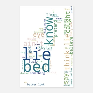 Bed Bed Of Lies - Poster
