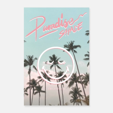 SmileyWorld Paradise Shade - Poster