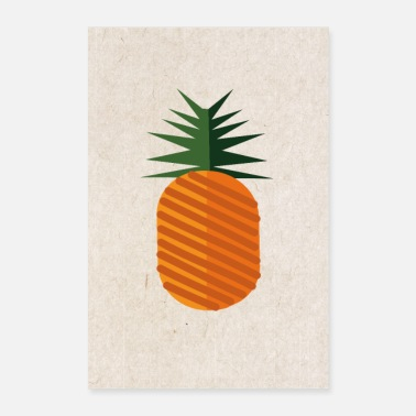 Bless You Sweet colorful pineapple - Poster