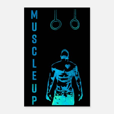 Studio Muscle Up Fitness Training Gym Studio - Poster