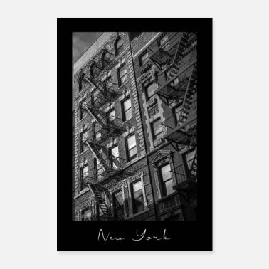 New York Trappen in West Village - New York - Poster