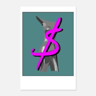 Dollar Dollar sign n 'my figures - Poster