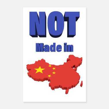 China Niet gemaakt in China - Poster