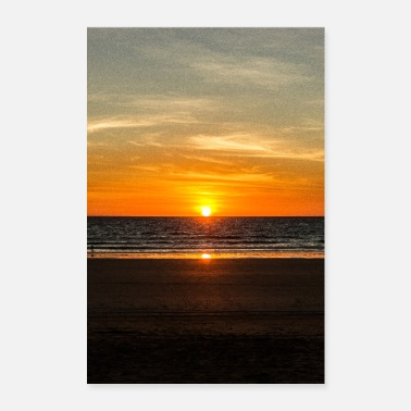 Natuur Cable Beach - Broome, Australië - Poster