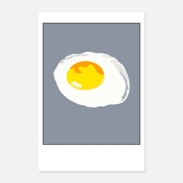Fried Egg fried egg - Poster