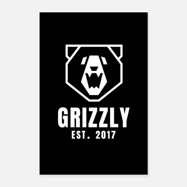 grizzly poster - Poster