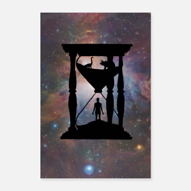 Galaxey Hourglass - Poster