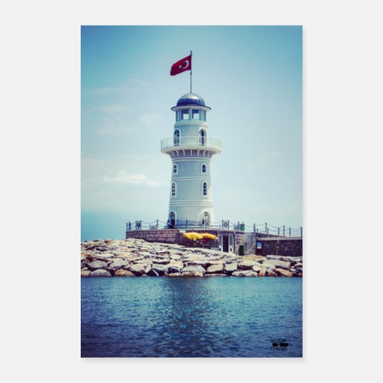 Travel Posters - Lighthouse Travel Outdoor / Photo - Events & Travel - Posters white