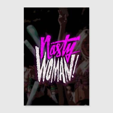 Nasty Woman Poster Lang - Poster 60x90 cm