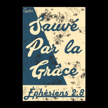 Save by grace - Poster 24 x 35 (60x90 cm)