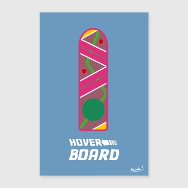 hoverboard - Poster 60x90 cm