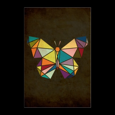 butterfly - Poster 24 x 35 (60x90 cm)
