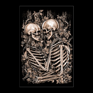 LOVE TO DEATH - Poster 24 x 35 (60x90 cm)