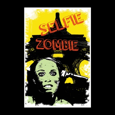 zombie on vacation - Poster 24 x 35 (60x90 cm)