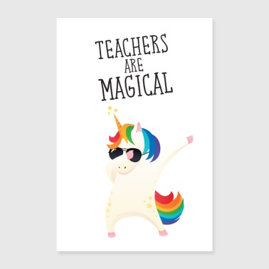 Teachers Are Magical - Poster 60x90 cm