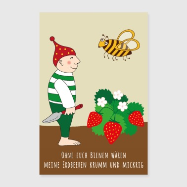 Strawberry POSTER - Poster 24 x 35 (60x90 cm)