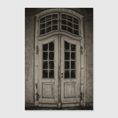 Lost Place - Old Door - Poster 24 x 35 (60x90 cm)