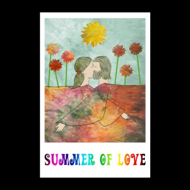 Summer of Love - Poster 24 x 35 (60x90 cm)