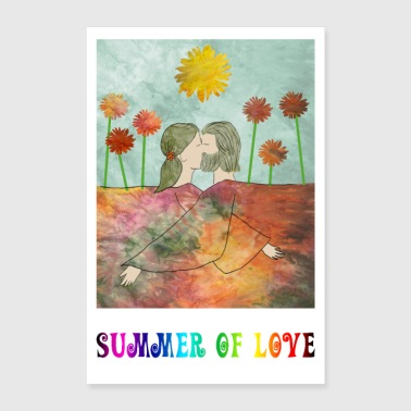 Summer of Love - Poster 60x90 cm