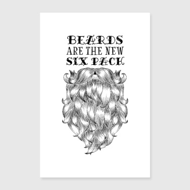 Beards Are The New Si Pack - Poster 24 x 35 (60x90 cm)