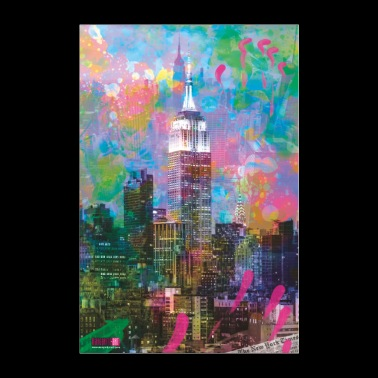 04 Good Morning NEW YORK! Poster Margarita Art - Poster 24 x 35 (60x90 cm)