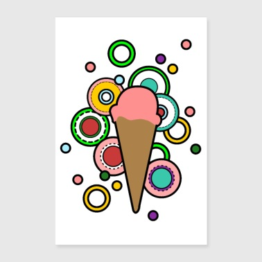 glace - Poster 60 x 90 cm