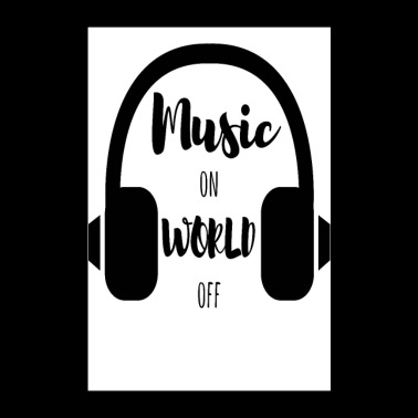 Music on World off SW POSTER - Poster 24 x 35 (60x90 cm)