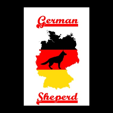 German shepherd dog - Poster 24 x 35 (60x90 cm)