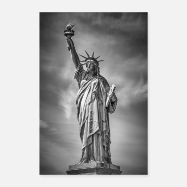 NEW YORK CITY Statue of Liberty - Poster