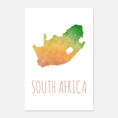 South South Africa - Poster