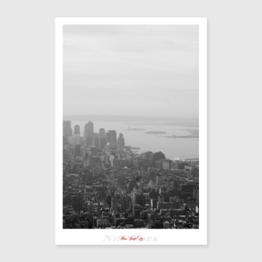 Ny New York City (Affiche) - Poster 40 x 60 cm