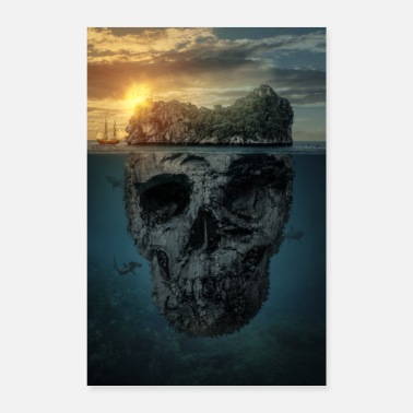 Island The death island - Poster 16 x 24 (40x60 cm)