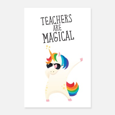 Magic Teachers Are Magical - Poster
